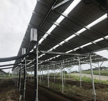 نظام تركيب المزارع الشمسية ، اليابان