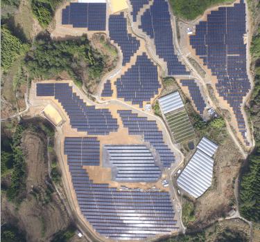 کاگوشیما 7.5 مگاوات نیروگاه خورشیدی